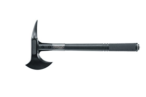 WALTHER Camping Axt Tomahawk, Schwarz, One Size