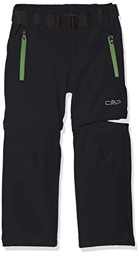 CMP Jungen Zip Off Dry Function Trousers Hose, Antracite-Edera, 164