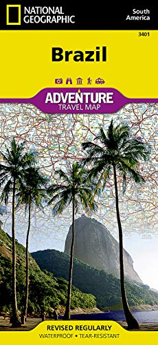 Brasilien: NATIONAL GEOGRAPHIC Adventure Maps: Travel Maps International Adventure Map