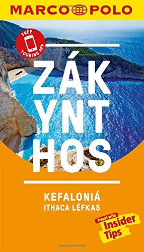 Zakynthos and Kefalonia Marco Polo Pocket Travel Guide - with pull out map: Includes Ithaca and Lefkas (Marco Polo Guide)