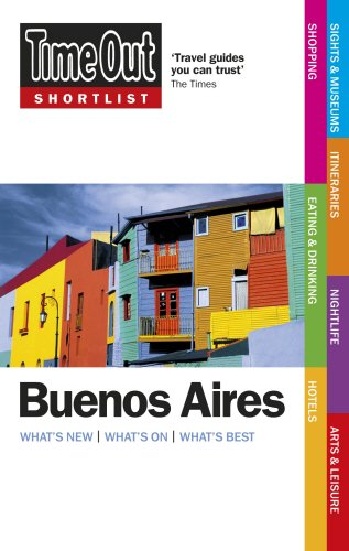 Time Out Shortlist Buenos Aires