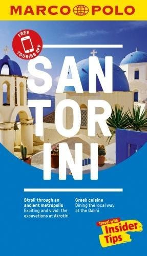 Santorini Marco Polo Pocket Travel Guide - with pull out map (Marco Polo Guide)