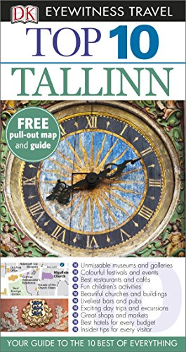 DK Eyewitness Top 10 Tallinn (Pocket Travel Guide)